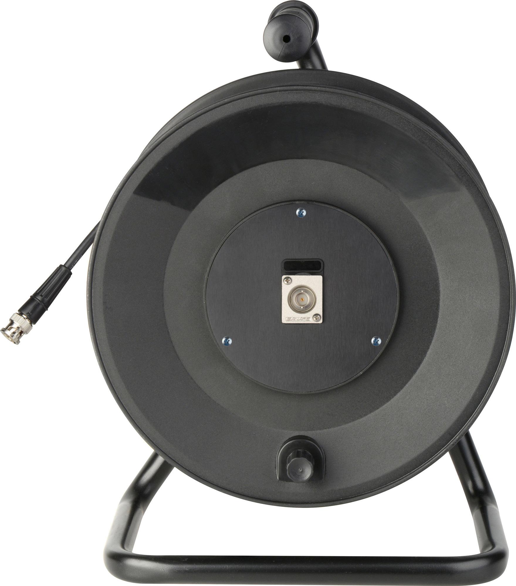 Jackreel Deluxe 1 Channel BNC with 100ft. Belden 1505F MKR-1-100
