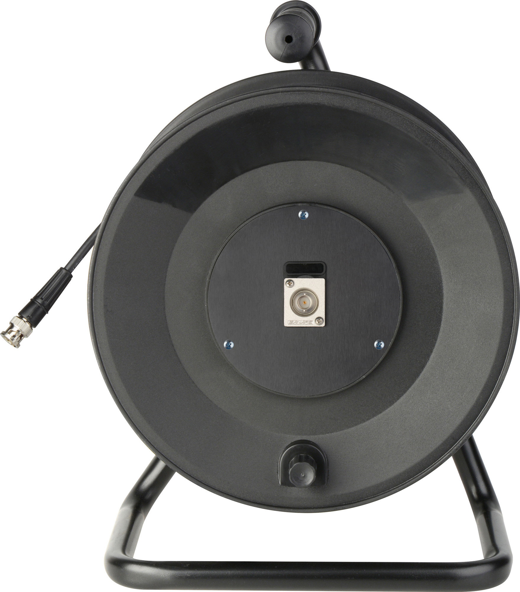 Jackreel Deluxe 1 Channel BNC with 150ft. Belden 1505F MKR-1-150
