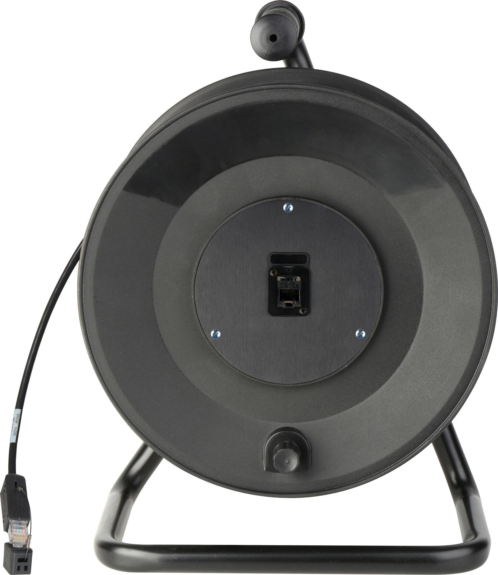 Jackreel Deluxe CAT5 made with Belden 1583 Datatwist Cable MKR-12-328