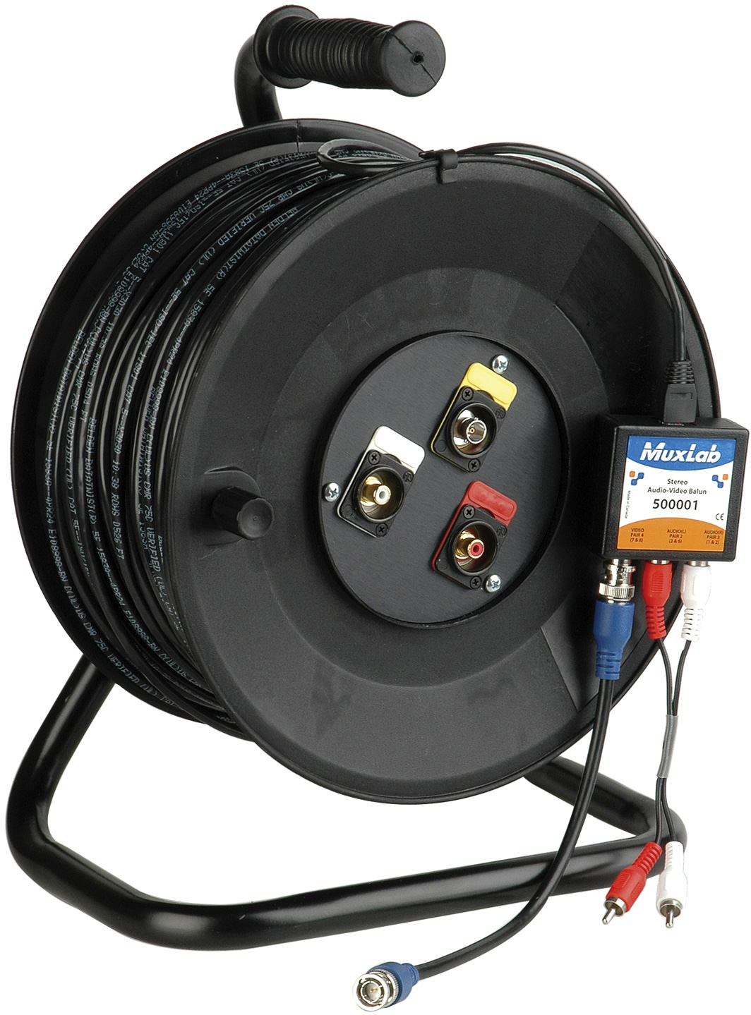 AV Systems over CAT5 with 100ft of Belden 1583 Datatwist Cable