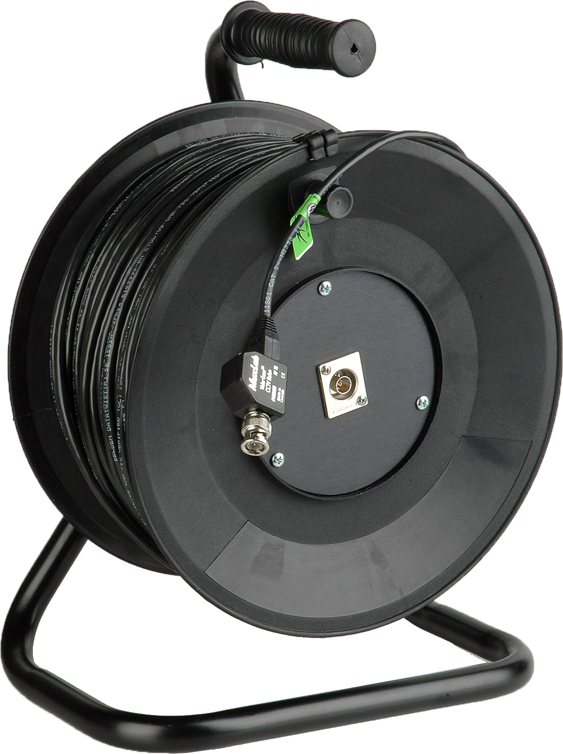 Connect-N-Go Reel Composite Video Over Belden 1583A Cat5e Cable 500 Ft
