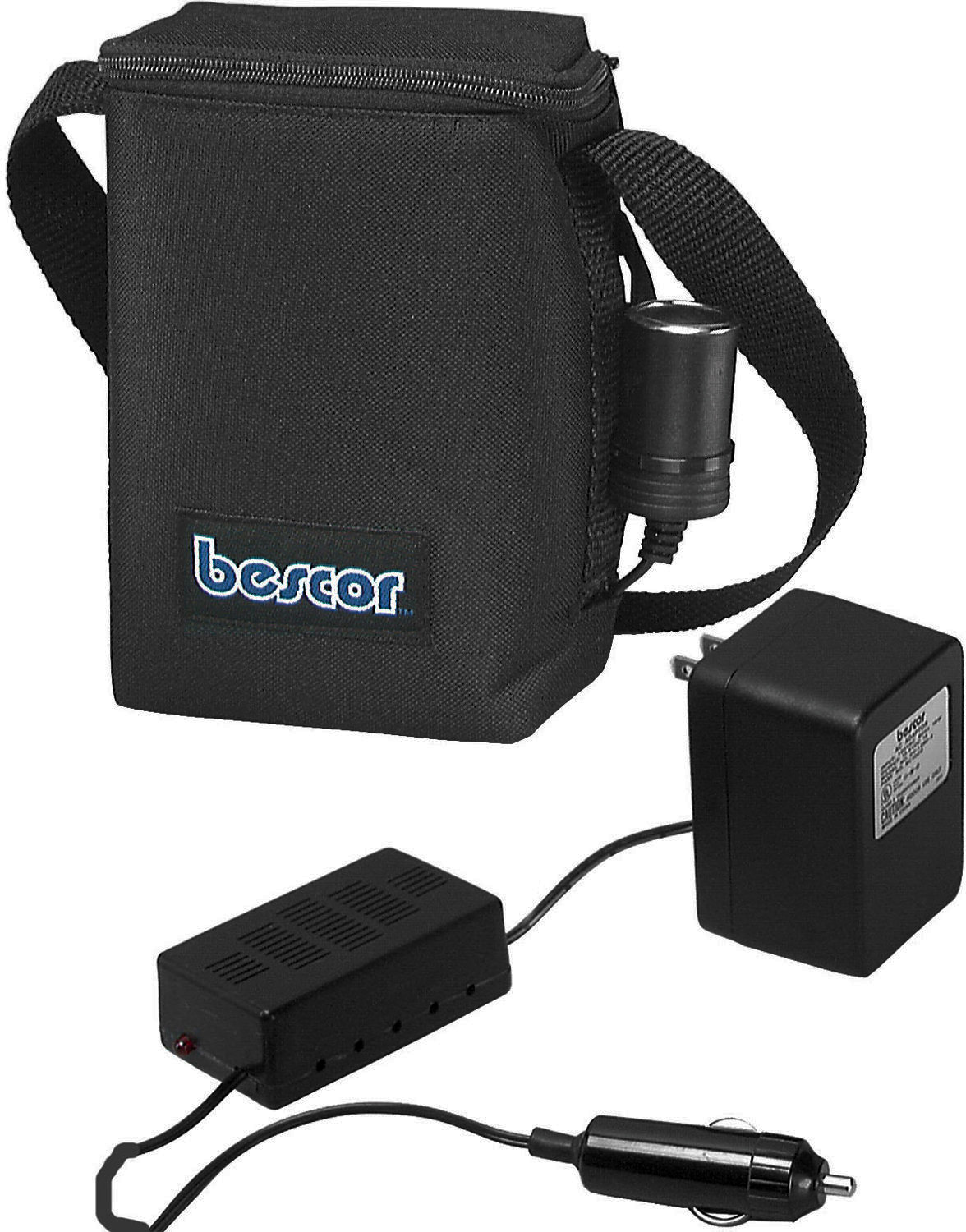 Bescor MM7ATM 12Volt Rechargeable Lead Acid Battery Pack with Automati