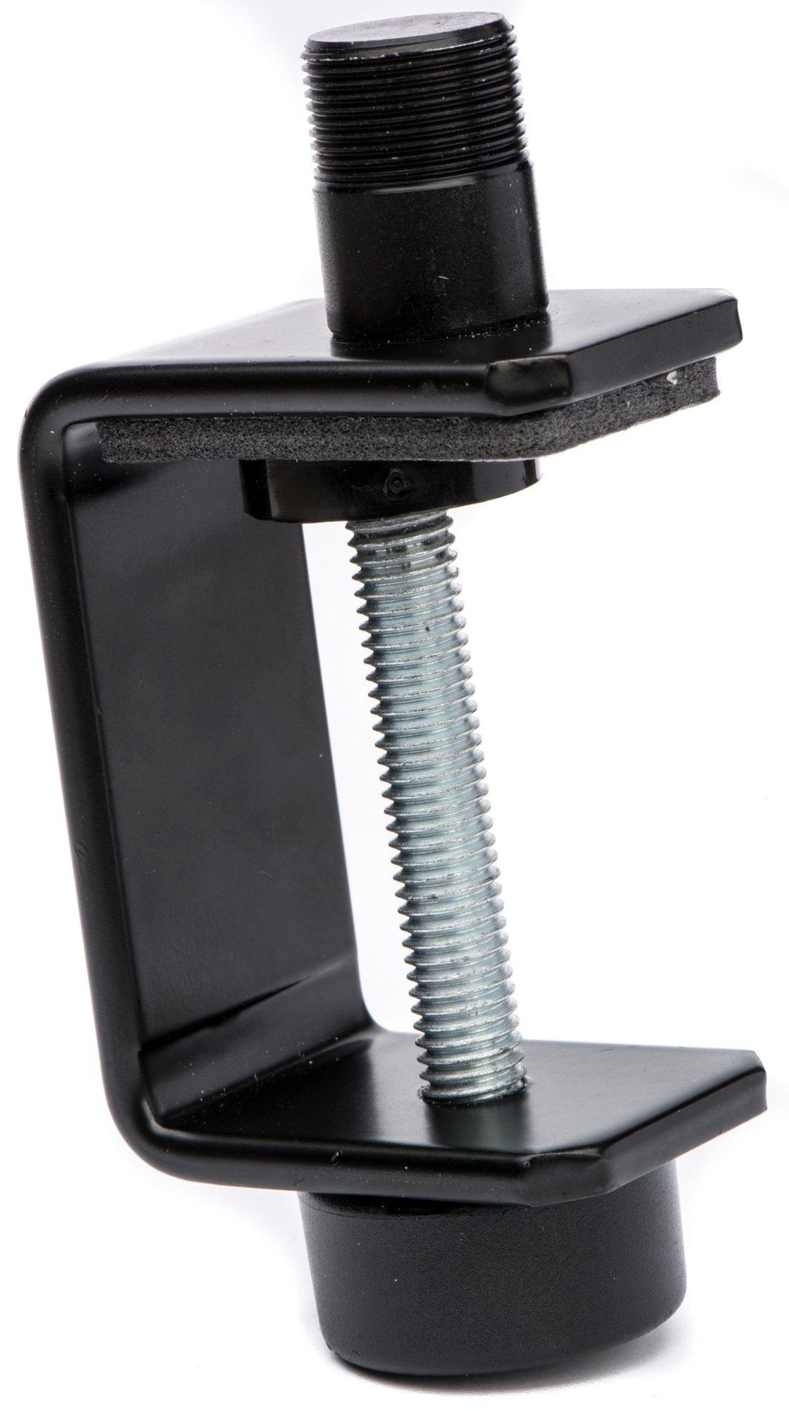 K&M 23700 Table Mic Clamp - Black MS-237