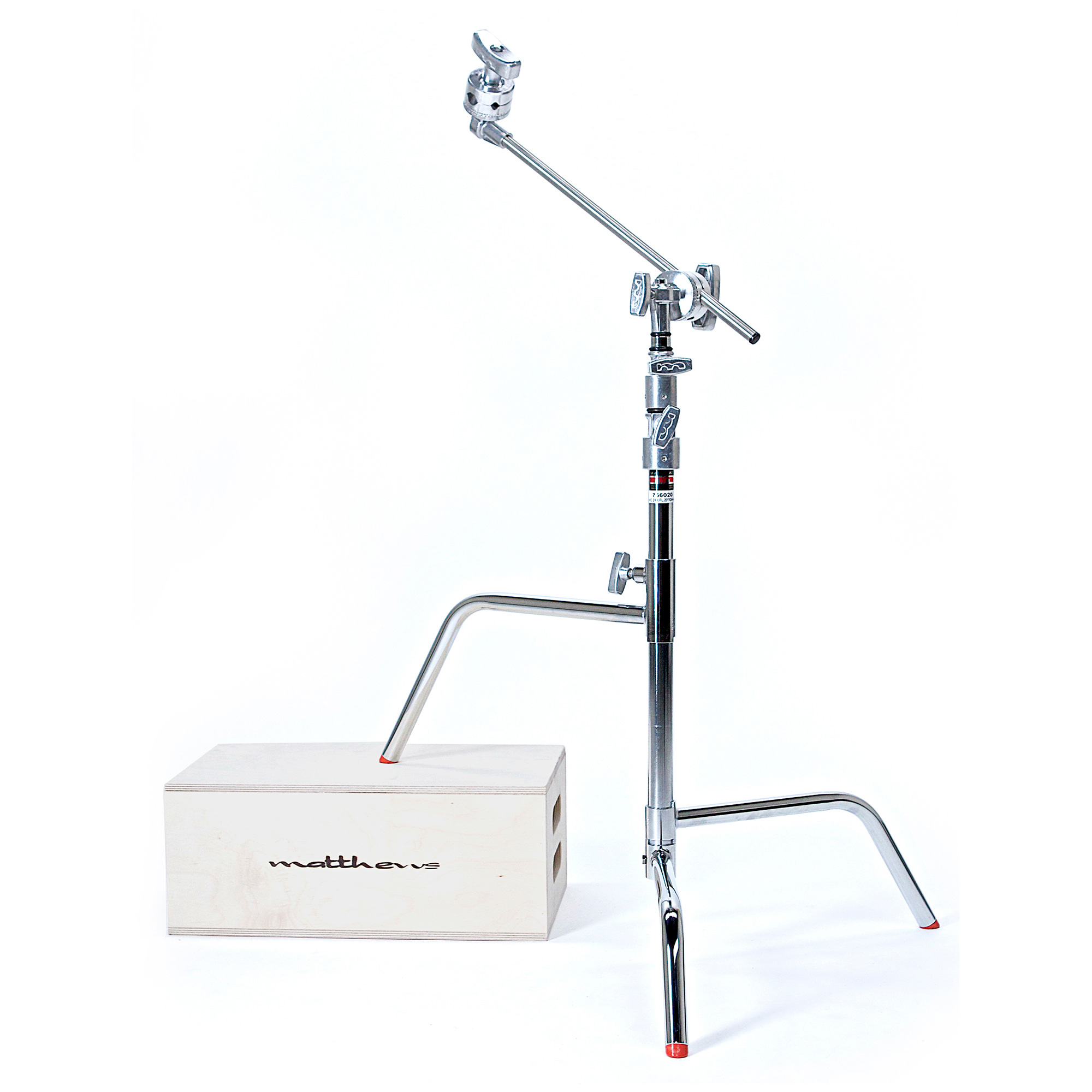 20in C Stand with Sliding Leg Grip Head and Arm MSE-756020