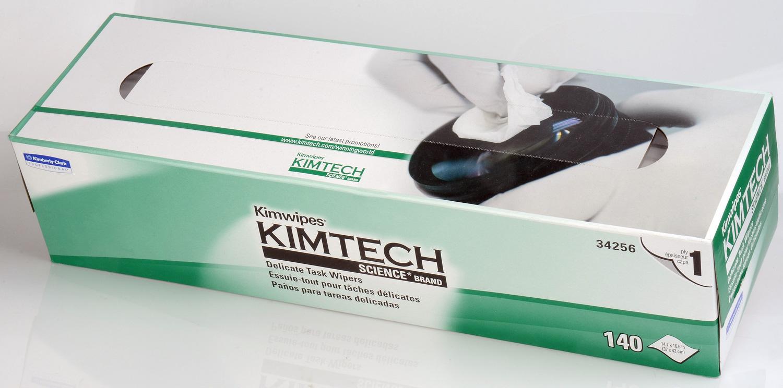 Kimberly-Clark 34256 15 x 17 inch EX-L Delicate Task Kimwipes 140 Pack