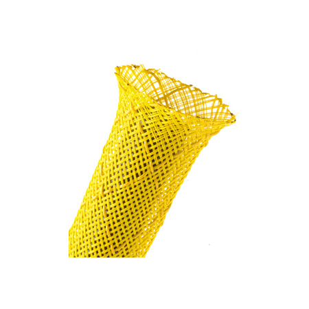 Techflex NSN0.63 5/8 Inch Non-Skid Expandable Sleeving Neon Yellow 100