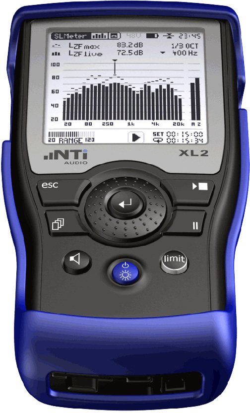 NTI Audio XL2 Audio and Acoustic Analyzer NTI-XL2