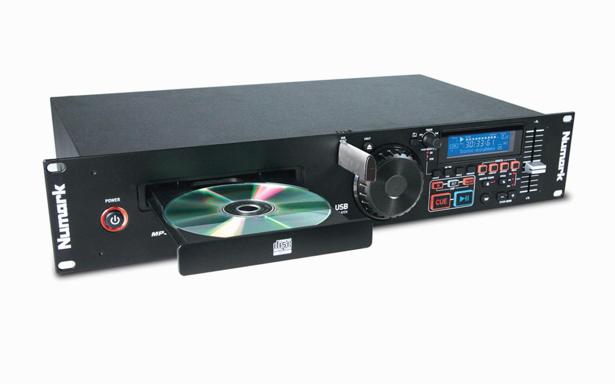 Numark MP103USB Professional USB and MP3 CD Player NUM-MP103USB