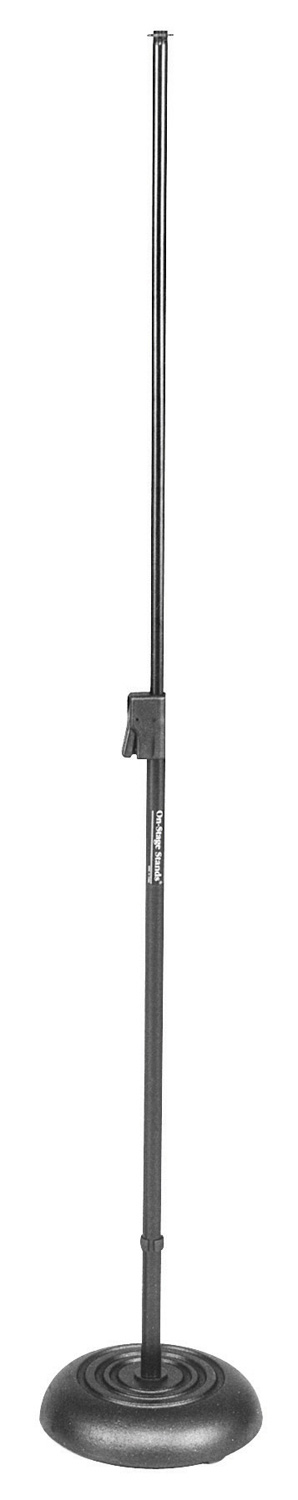 On Stage Stands MS7201QRB Quick Release Round Base Mic Stand