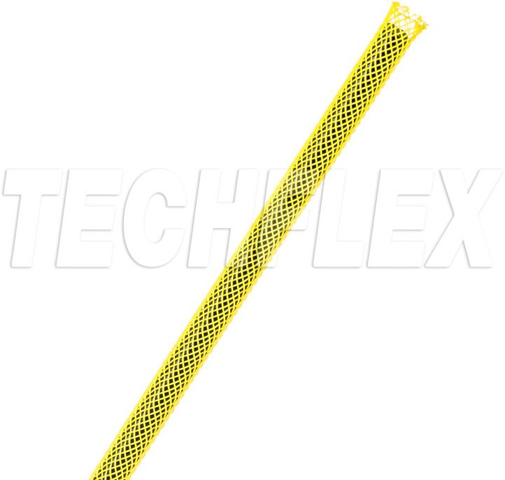 1/8In-7/16In Expandable Tubing Yellow 100 Foot Roll PET2-C-YW
