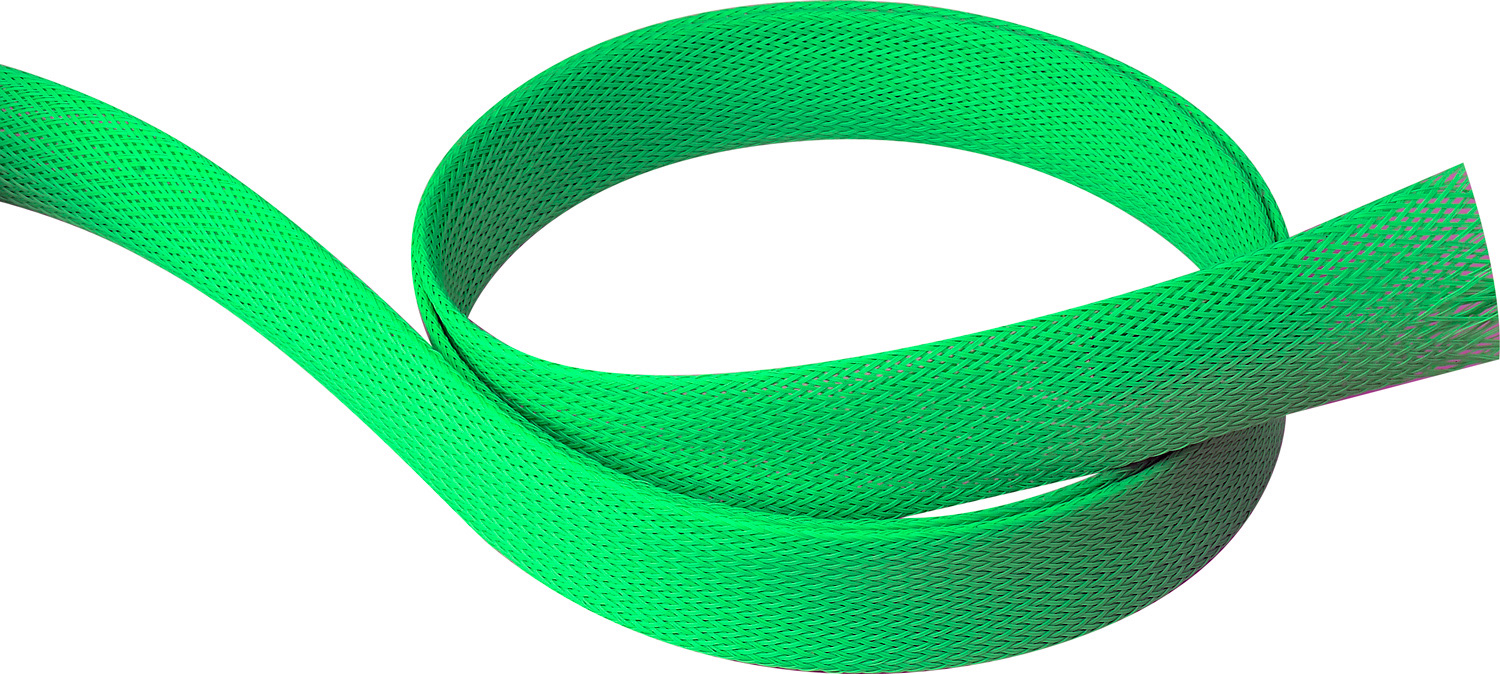 3/4In-1 3/4 Expandable Tubing Neon Green 250 Foot Roll PET6-250-NG