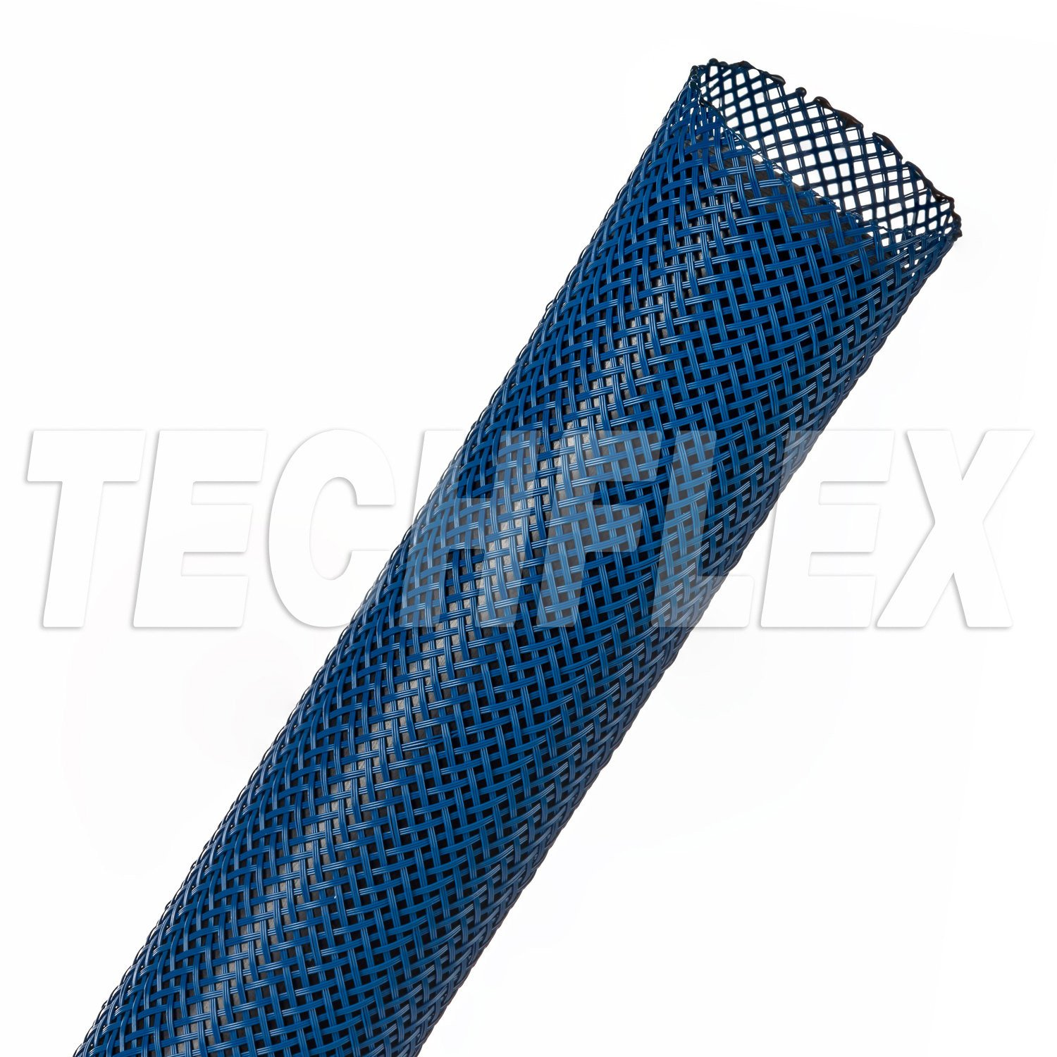 1 1/4In-2 3/4In Expandable Tubing Blue 50 Foot Roll PET8-50-BE