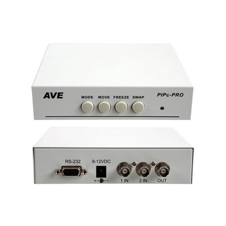 American Video PIPC-PRO Picture-In-Picture Screen Splitter With RS-232