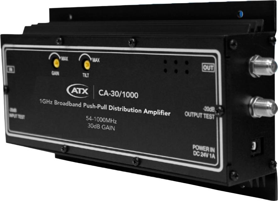 1000MHz Push Pull Wall Mt Amplifier PM-CA30-1M