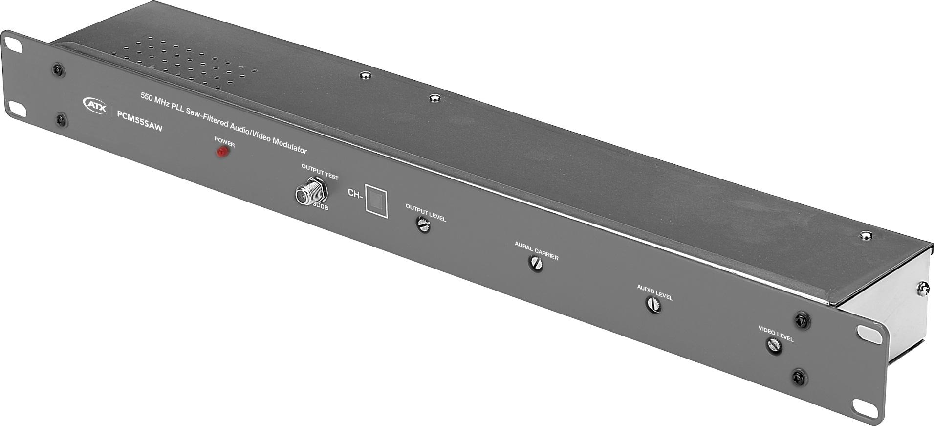 1 Channel Crystal A/V Modulator - Channel 18 PM-PCM55SAW-18