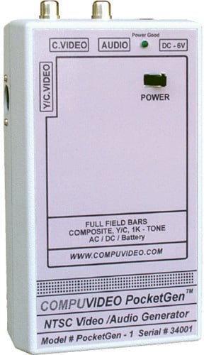 Compuvideo PocketGen 1 Handheld Video/Audio Generator (220 Volt)