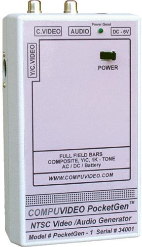 Compuvideo PocketGen 1 Handheld Video/Audio Generator POCKETGEN-1