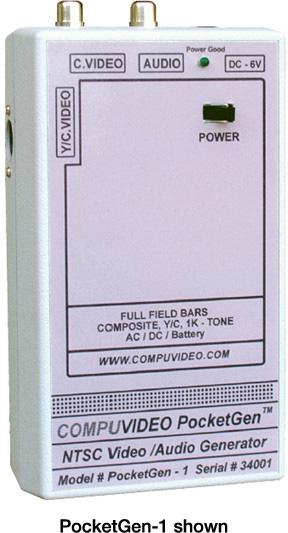 Compuvideo PocketGen 2A Handheld Video/Audio Generator POCKETGEN-2