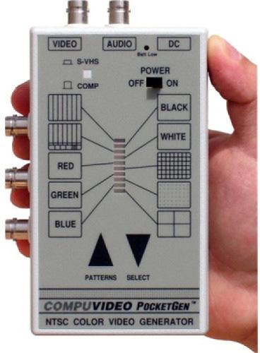 Compuvideo PocketGen 6 Composite/Component/Y/C/ XLR Audio Pattern Gene