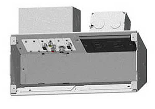 FSR PWB-100-WHT Wall Box for AV and Power - White PWB-100-WHT