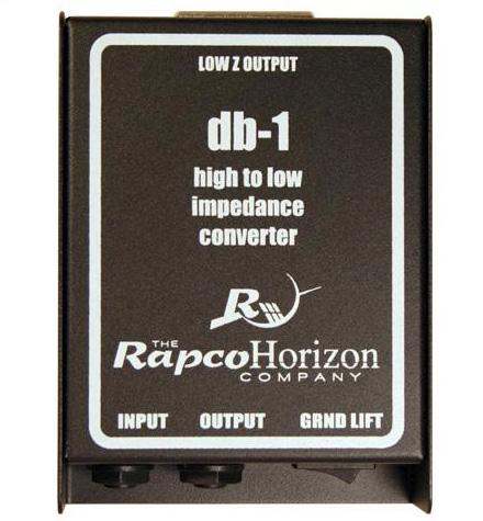 Rapco DB-1 Passive Direct Box RAPCO-DB-1