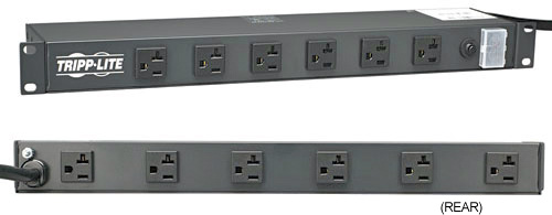 Tripplite RS1215-20 20 Amp 12 Outlet Rackmount Power Strip with 15 Ft.