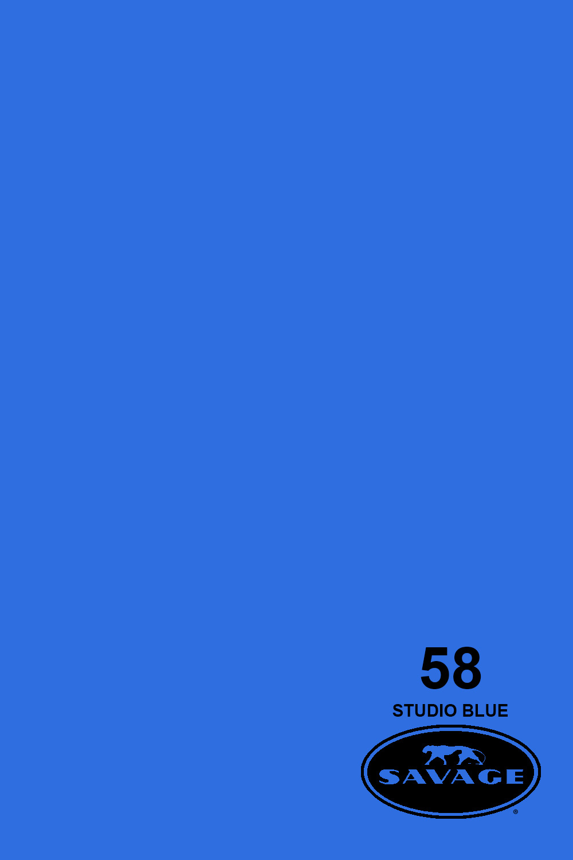 Savage 107X12Yds Paper Chroma Blue Sa-58-12Cm