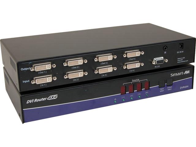Smart AVI DVR4X4S DVI-D 4x4 Router SAVI-DVR4X4S