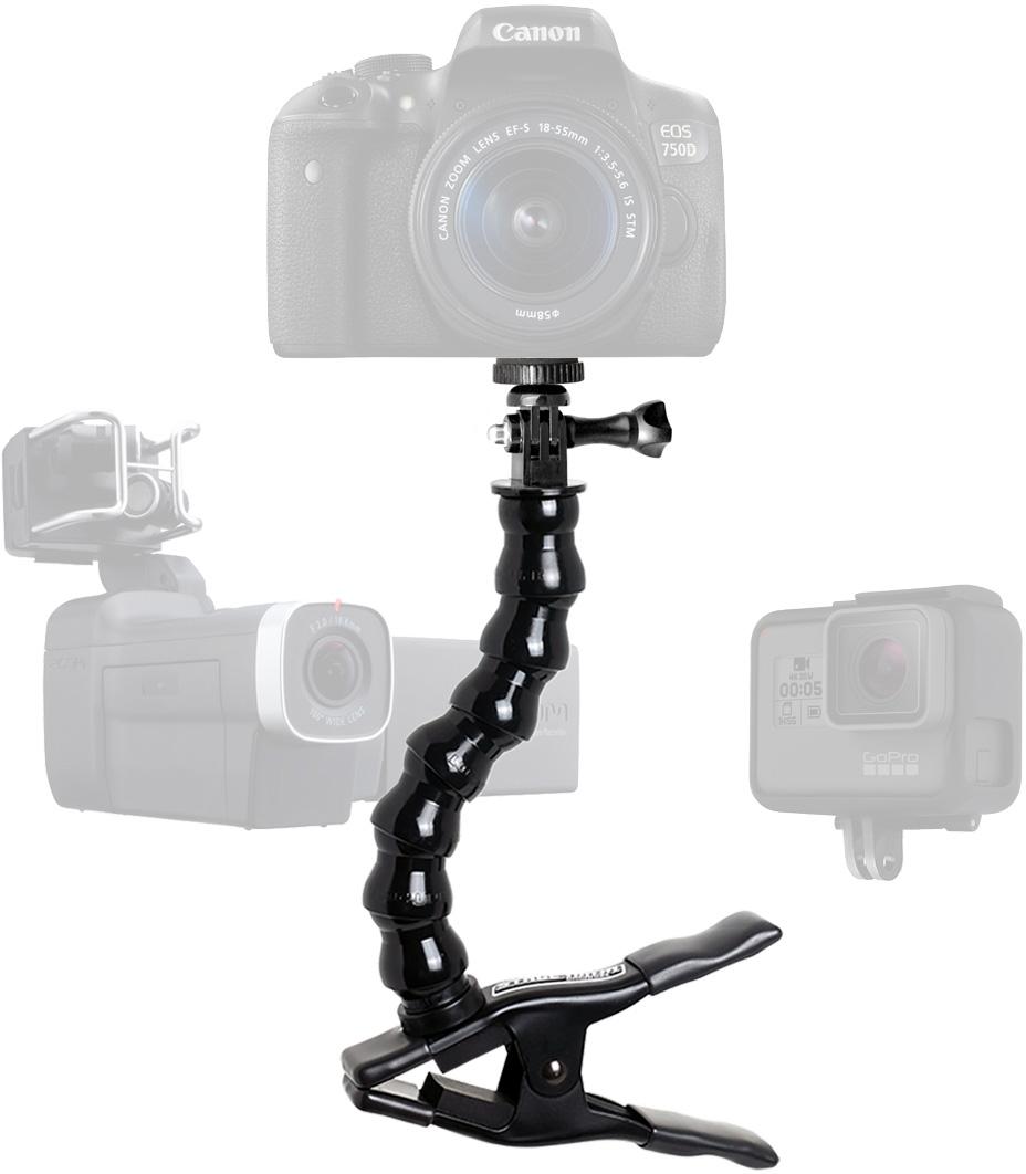 Stage Ninja CAM-12-CB Camera/Recording Device Stand with Gooseneck on
