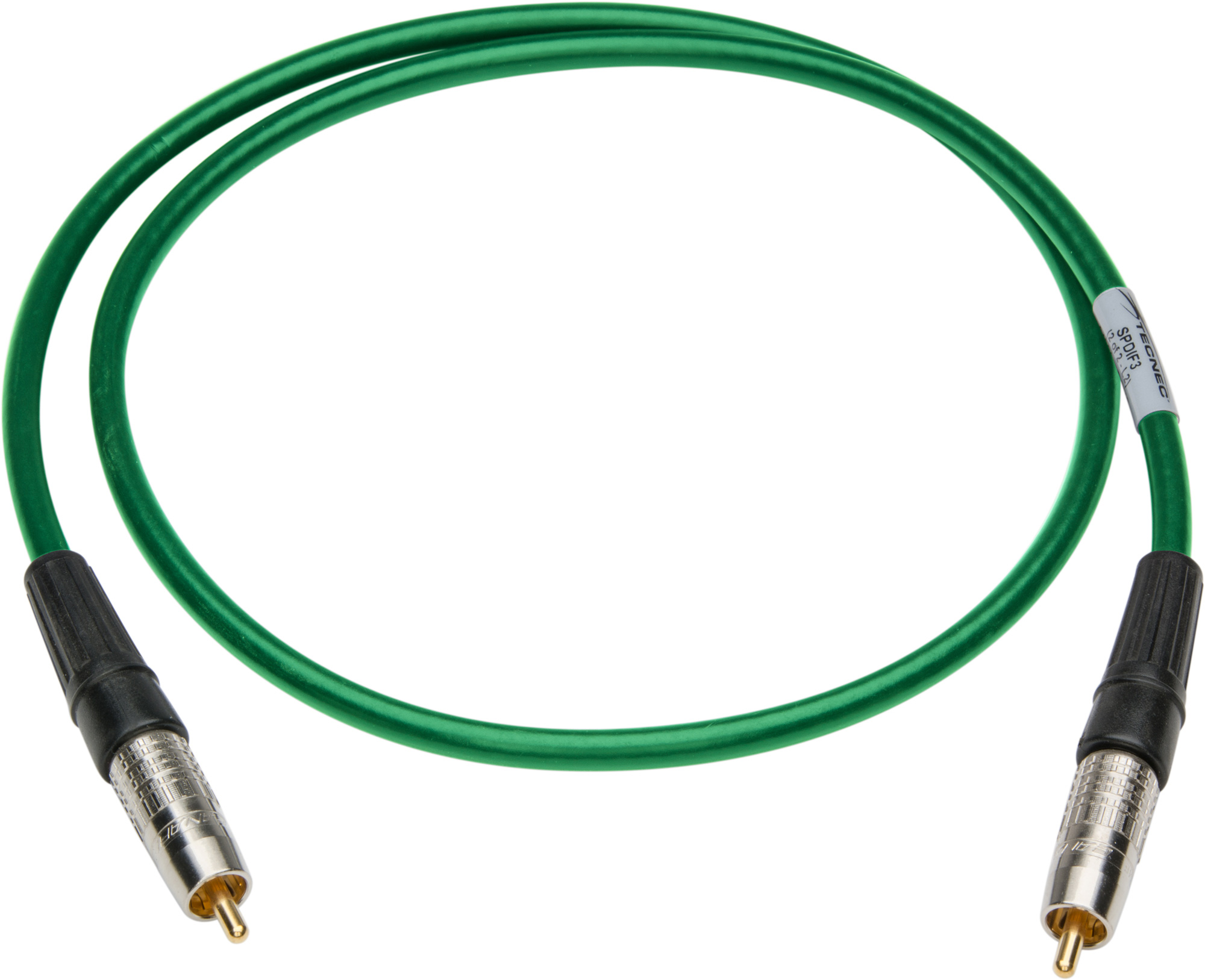 40 Foot SPDIF RCA Male to Male Digital Audio Cable - GREEN SPDIF40GN