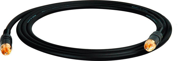 Hi Clarity RCA to RCA Sub Woofer Speaker Cable 10 Foot Black SUB-RR-10