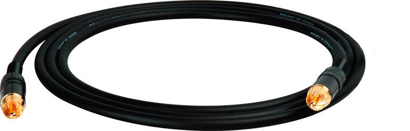 Hi Clarity RCA to RCA Subwoofer Speaker Cable Orange -  6 Foot
