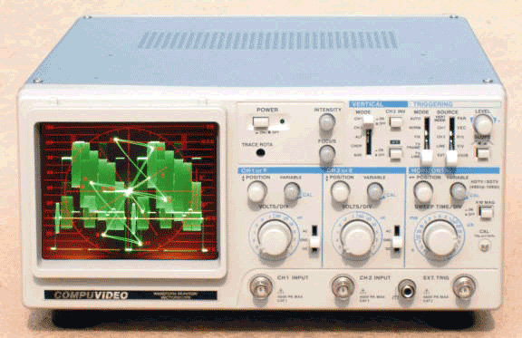 Waveform Monitor/Vectorscope SVR-1100B
