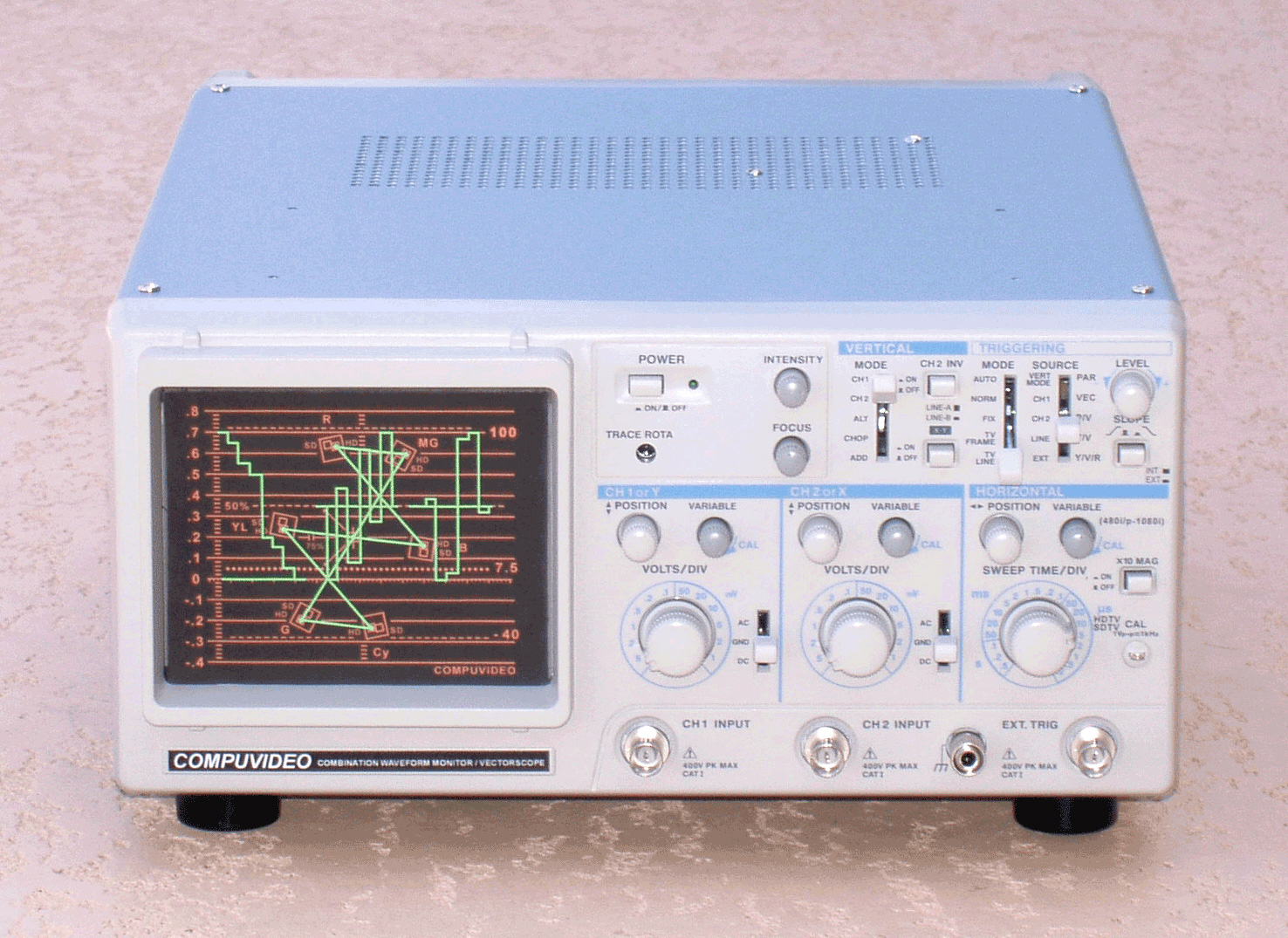 Compuvideo Digital/Analog Waveform Monitor SVR-1100SDI