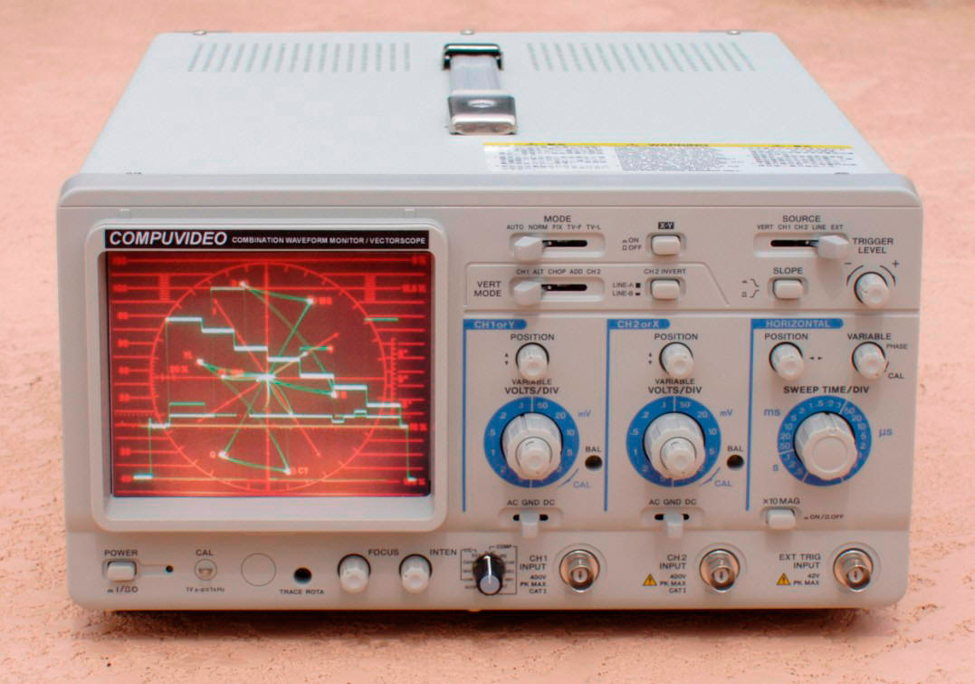 Serial Digital/Analog Component Waveform/Vectorscope SVR-3000AD