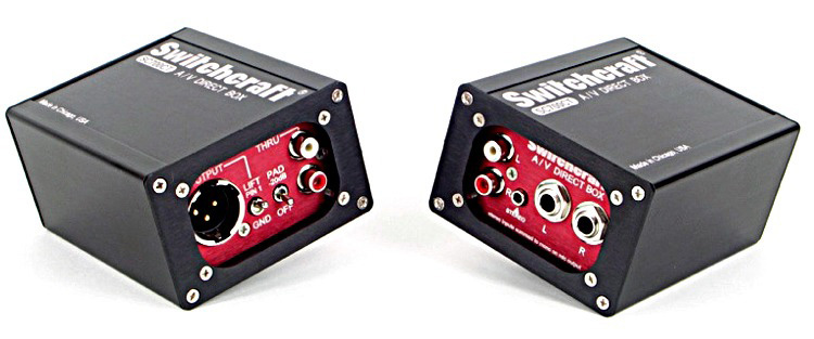 Switchcraft SC700CT A/V Direct Box SW-SC700CT