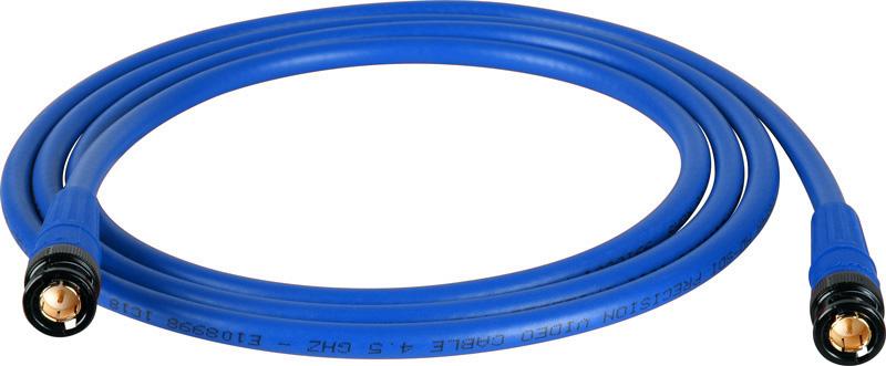 Belden 1694A SDI-HDTV RG6 Blue 100Ft. w/Trompeter B/G BNC
