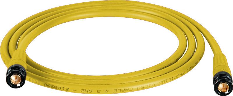Belden 1694A SDI-HDTV RG6 Yellow 200Ft. w/Trompeter B/G BNC