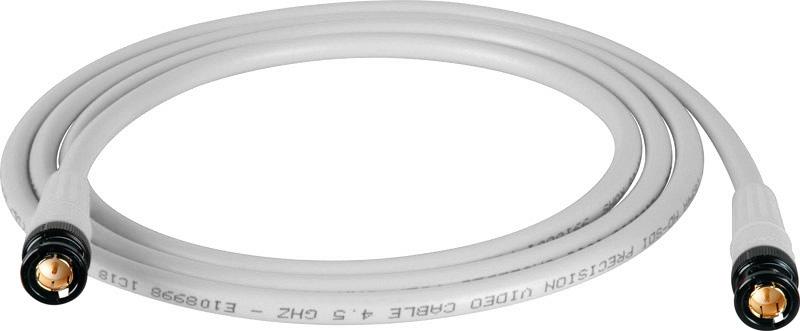 Belden 1694A SDI-HDTV RG6 White 3Ft. w/Trompeter B/G BNC