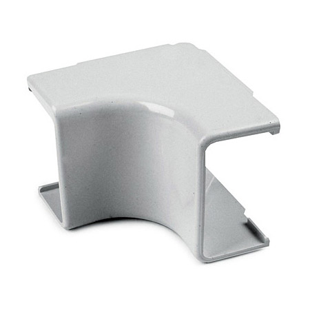 1 3/4 Inch White Cable Raceway Internal Corner 10-Pack for TSR3W-6A/8A