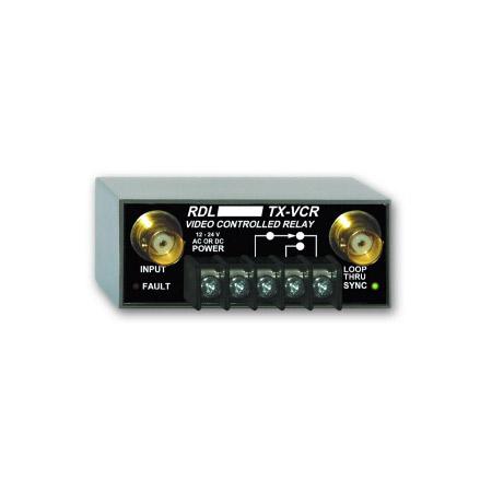 RDL TX-VCR Video Controlled Relay - BNC TX-VCR
