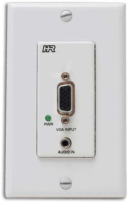 Hall Research UVA-DP Video and Audio Over UTP Decora Plate Sender