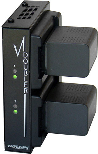 Dolgin VD-14-CAN DC Voltage Doubler with AB Gold Mount - Canon