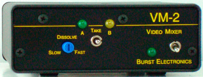 Burst VM-2 2x1 Video Mixer (PAL) VM2-PAL