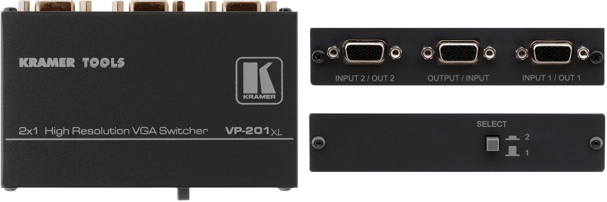 Kramer VP-201XL 2x1 VGA Switcher VP-201XL