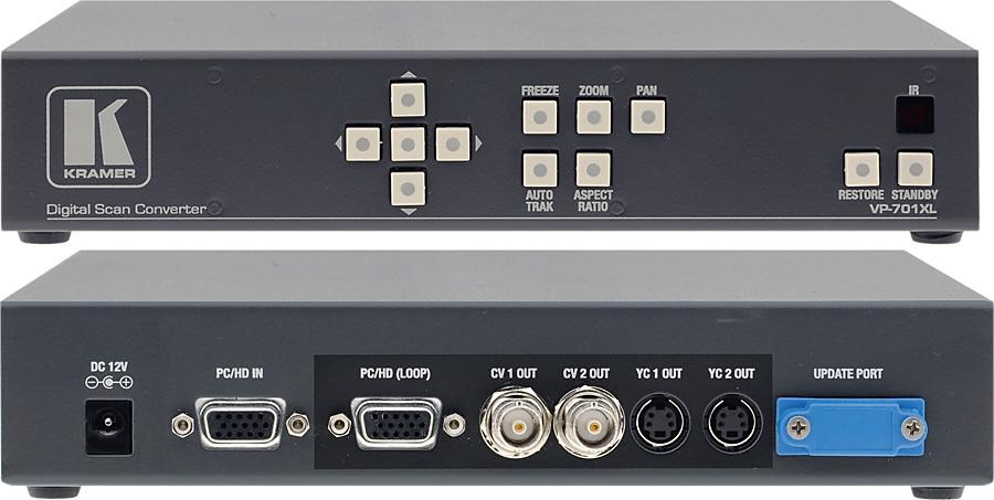 Kramer VP-701XL Computer Graphics Video Scan Converter VP-701XL