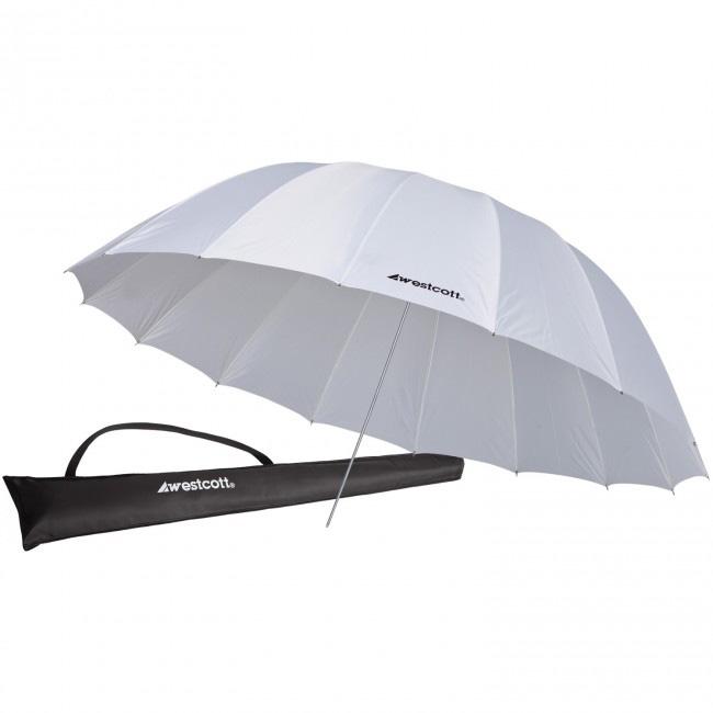 Westcott 7ft White Diffusion Parabolic Umbrella WES-4632