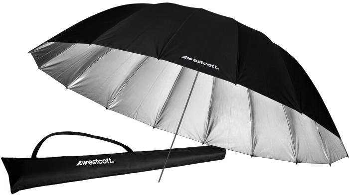 Westcott 7ft Silver Parabolic Umbrella WES-4633