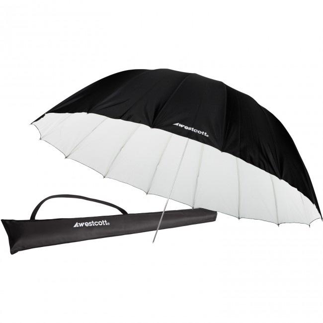 Westcott 7ft Parabolic Umbrella - White / Black WES-4634