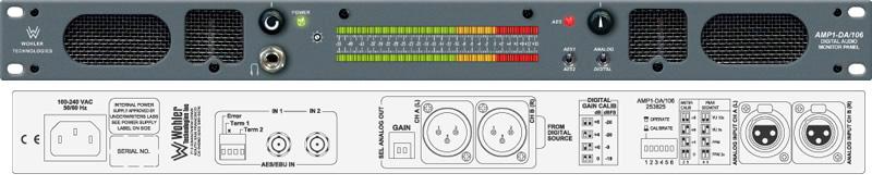 Wohler AMP1-DA/106 Compact 2CH Analog/Dig Self-Pwrd Speaker Sys High R